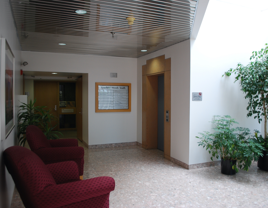Lynnfield Woods South Building Lobby