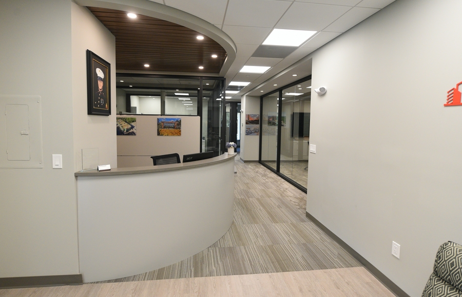 Lynnfield Woods North Building Office Entrance